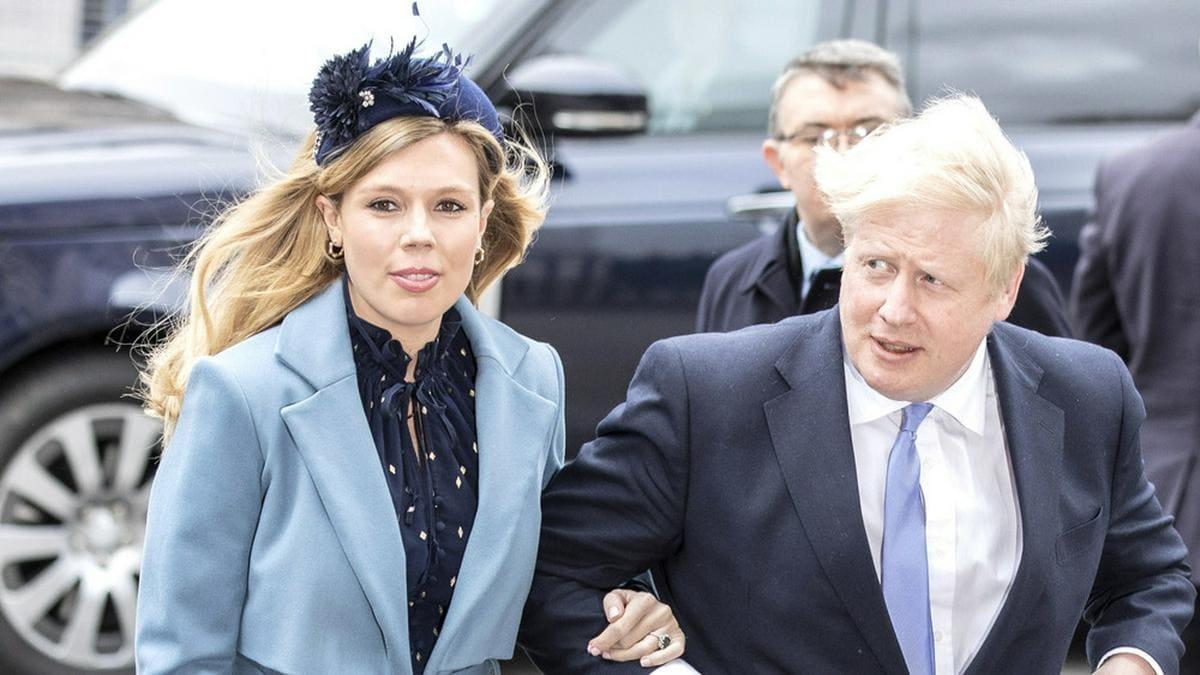 Boris Johnson an der Seite von Carrie Symonds - der Mutter seines Sohnes Wilfred Lawrie Nicholas und offenbar nun auch Ehefrau Nummer drei. © AdMedia/ImageCollect.com