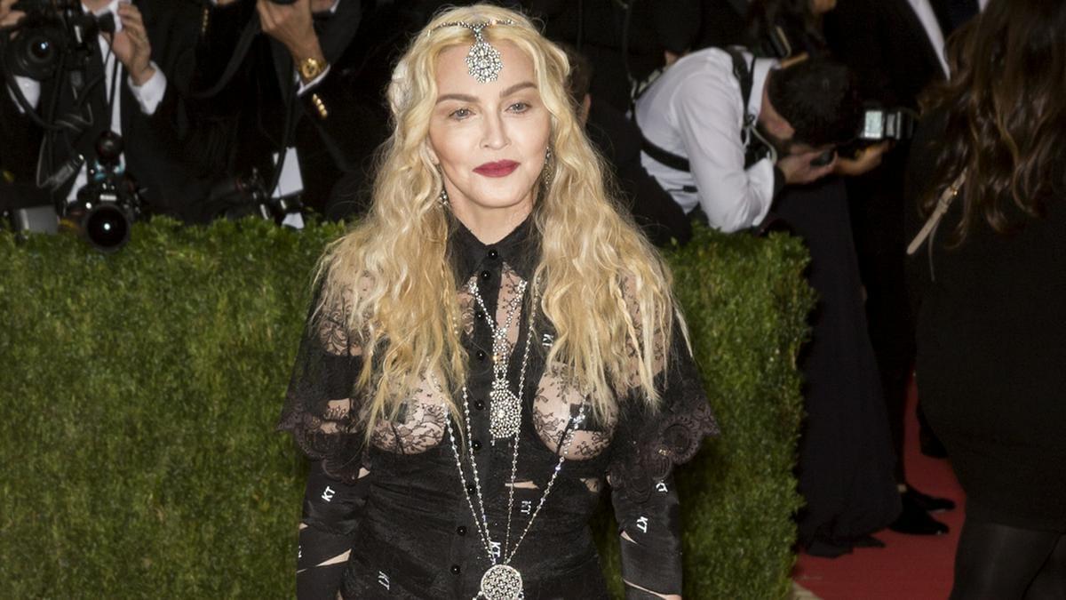 Madonna bei der Met-Gala in New York