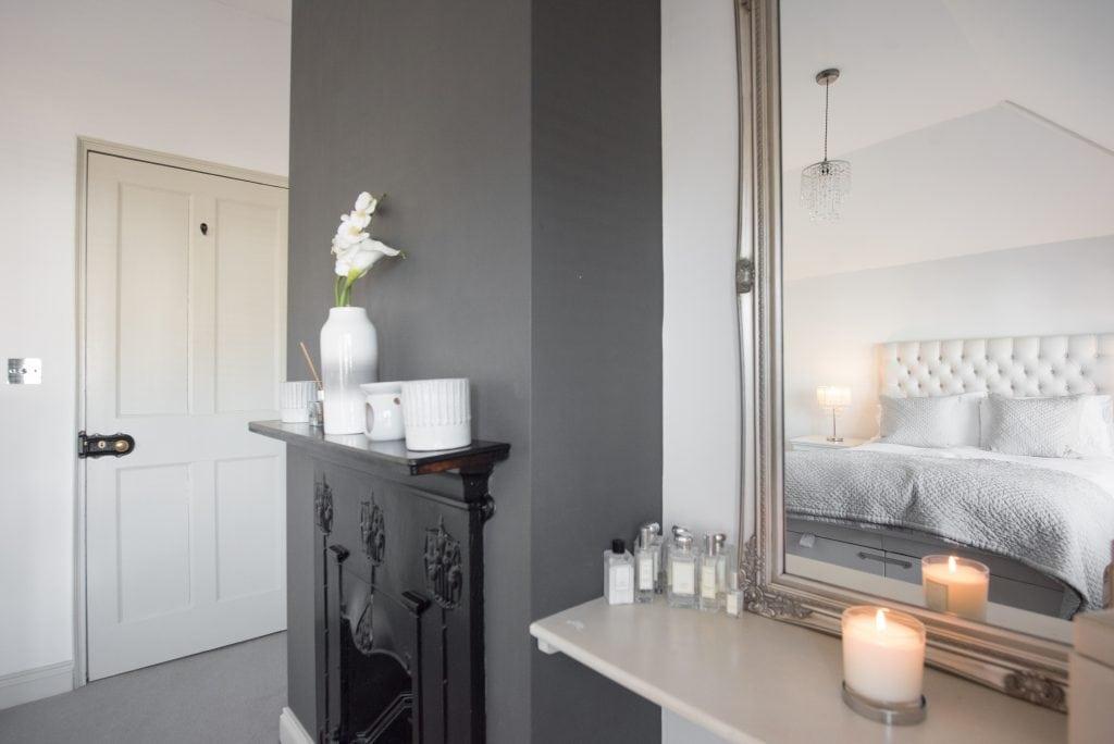 grau Wandfarbe fürs Schlafzimmer