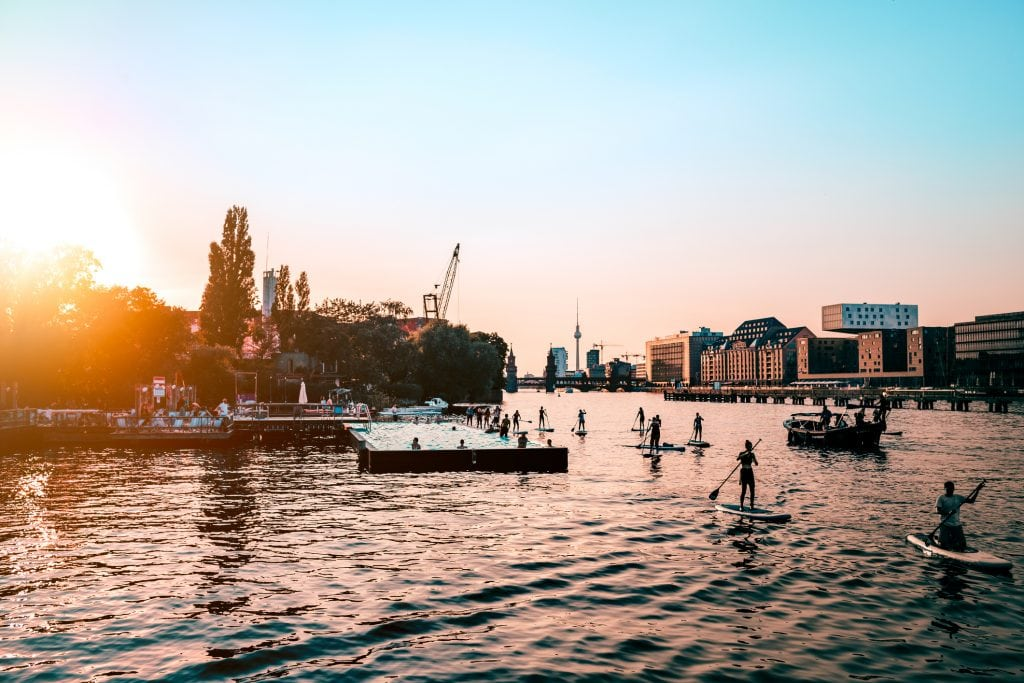 SUP Stand up Paddling Berlin