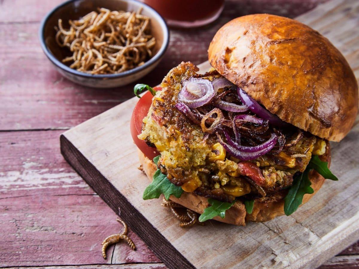 würmer burger