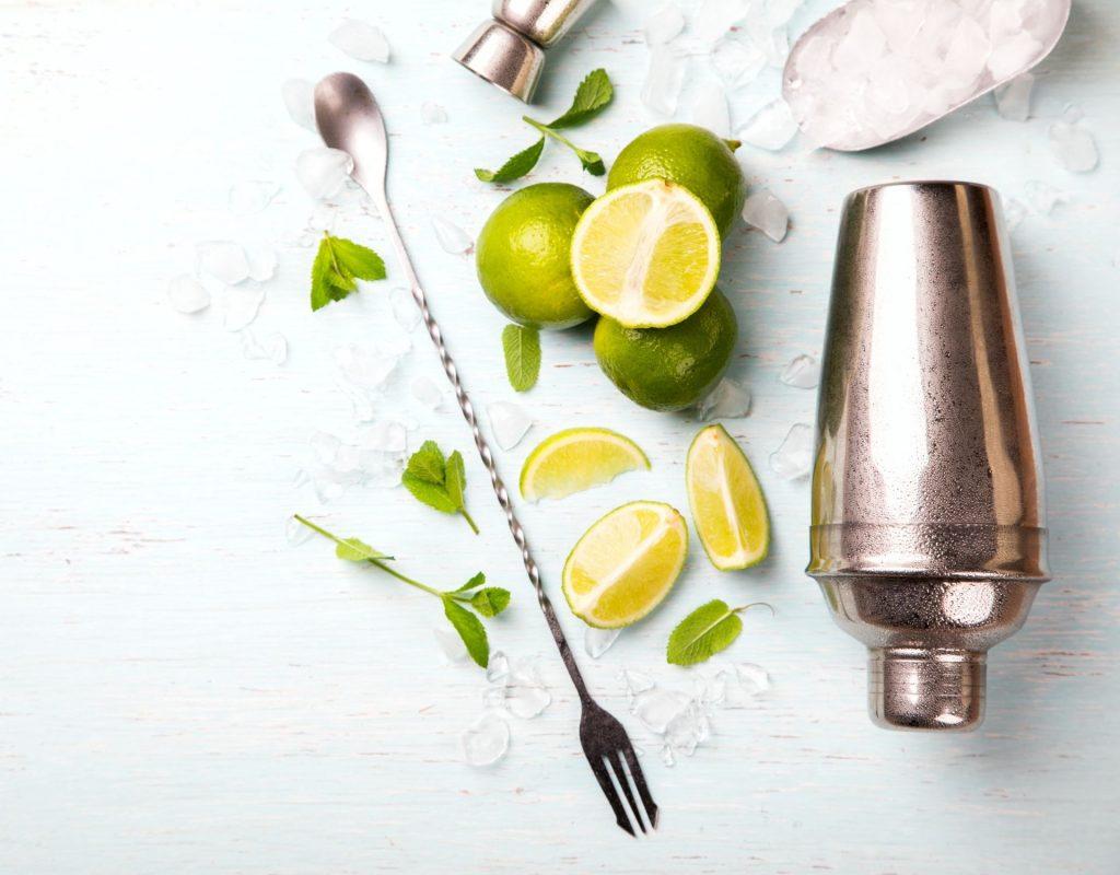 Sommer Cocktail frische Zutaten