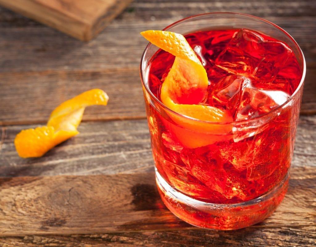 Sommer Cocktails Negroni