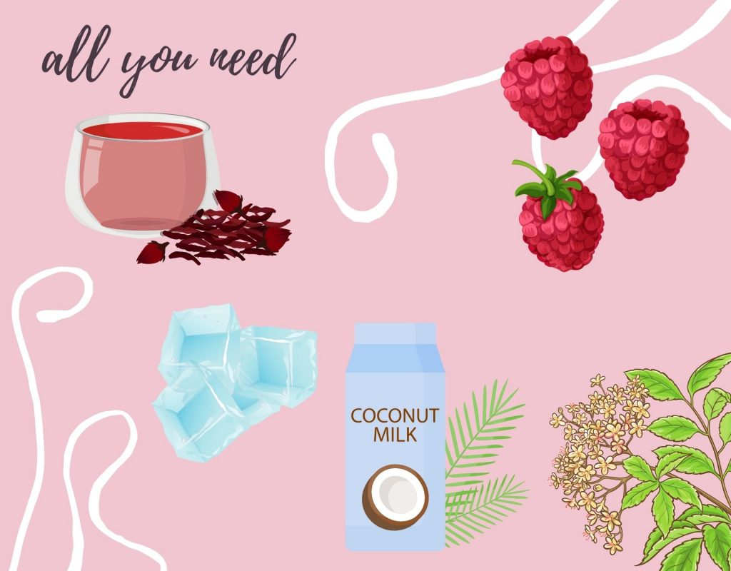Pink Drink Zutaten