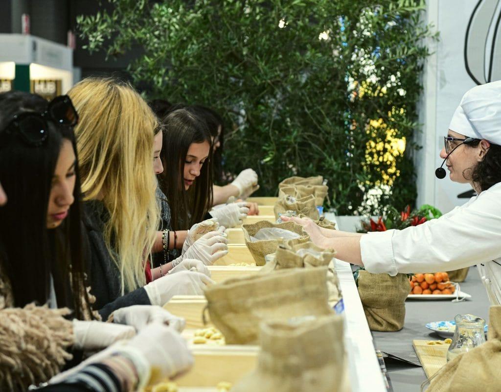 Aktivitäten im Urlaub Kochkurs Italien