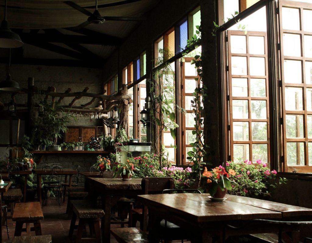 Cottagecore dunkler Raum