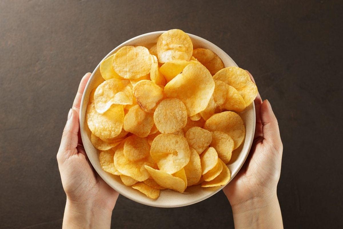 chips im backofen knusprig backen
