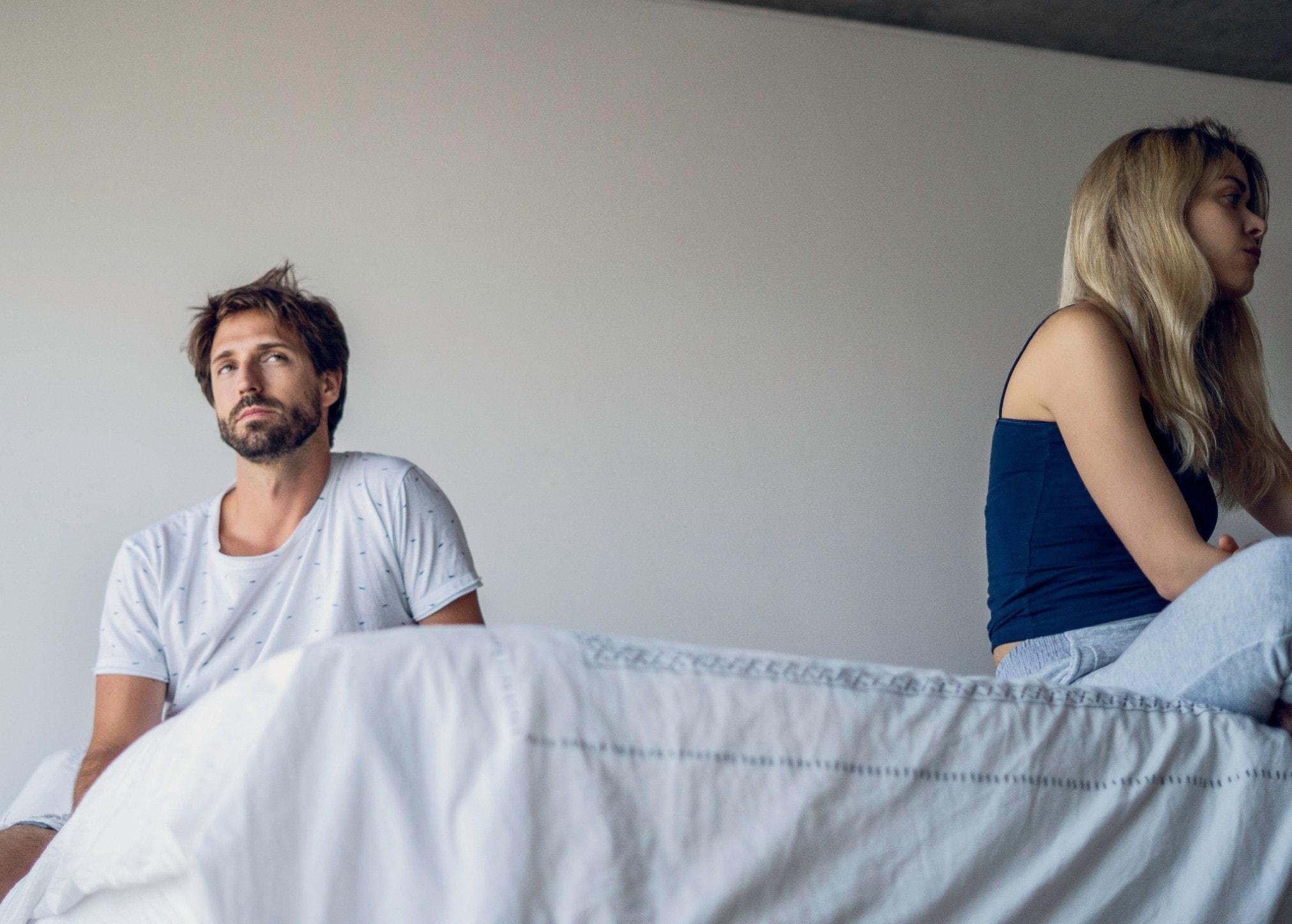 Kein Sex in der Ehe: Warum die Hochzeit ein Sex-Killer