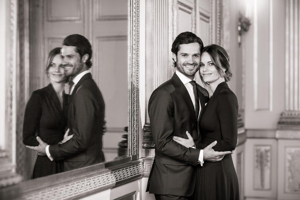 Prinz Carl Philip mit Frau Sofia