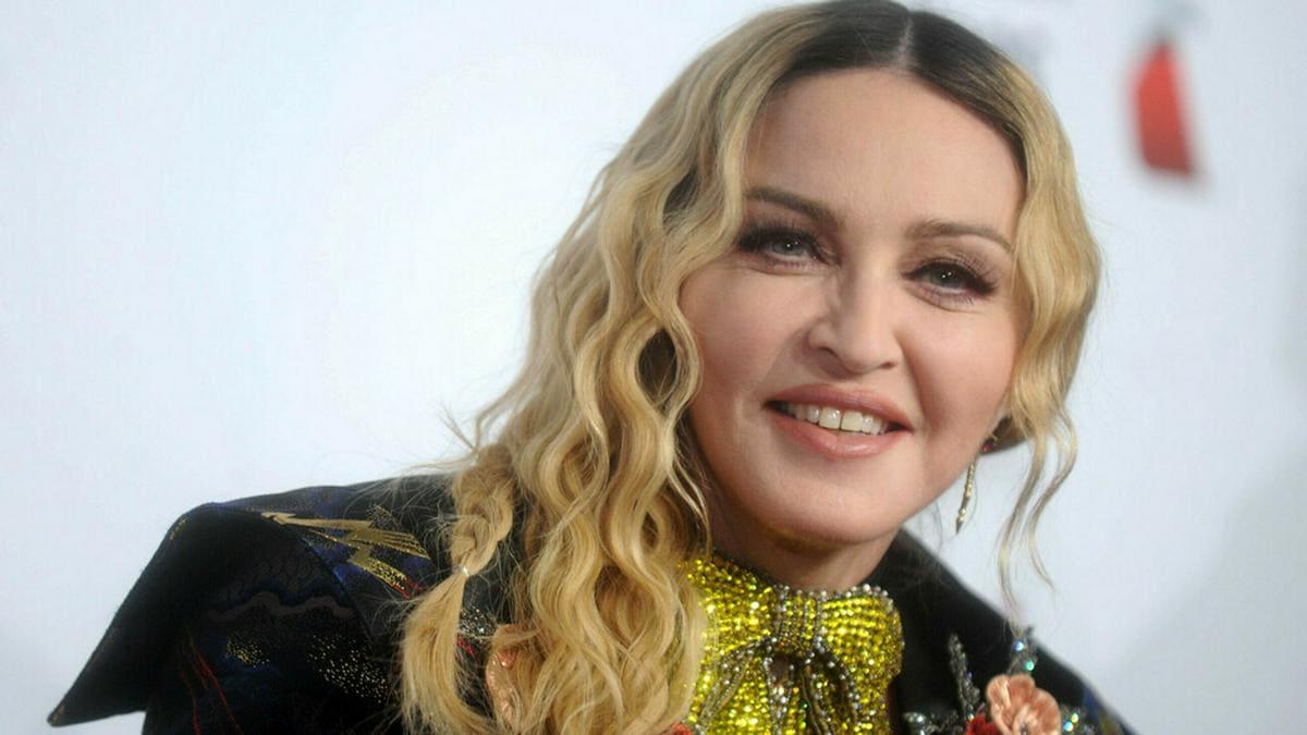Madonna ist stolz auf ihren Vater Silvio.. © Dennis Van Tine/starmaxinc.com/ImageCollect