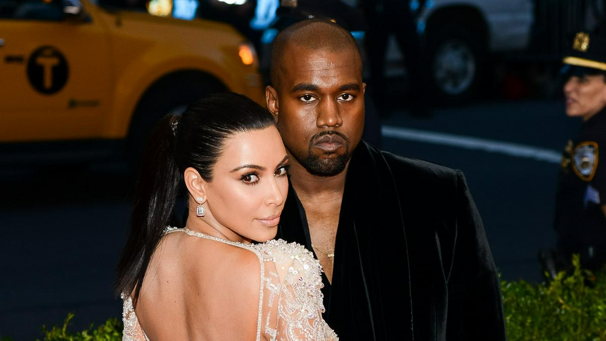 Kim Kardashian und Kanye West im Jahr 2015. © Sky Cinema/Shutterstock.com