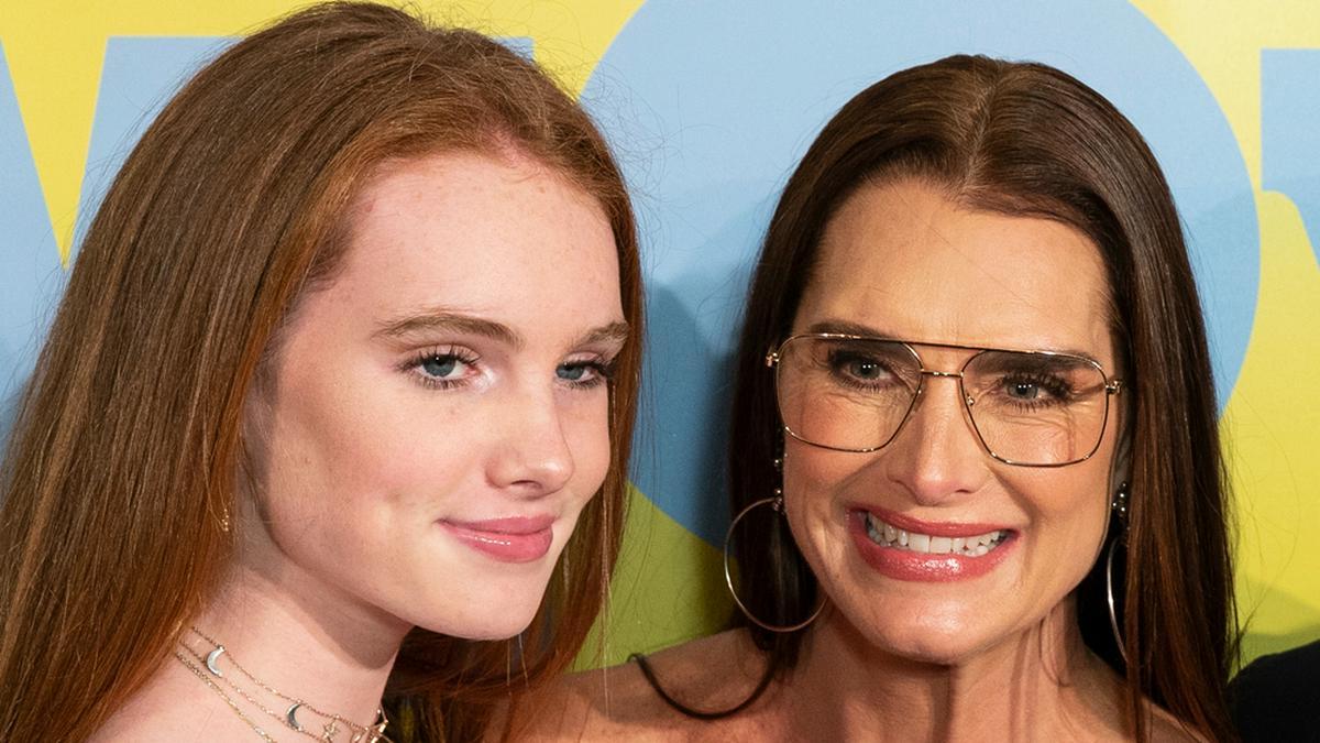 Rowan Francis Henchy und ihre Mutter Brooke Shields bei einem Event in New York
