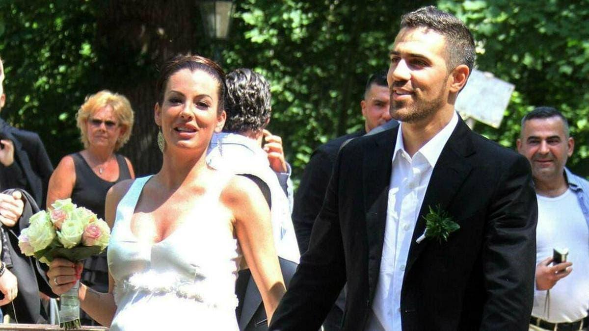 Bushido und Anna-Maria Ferchichi bei ihrer Hochzeit 2012.. © IMAGO / Eventpress