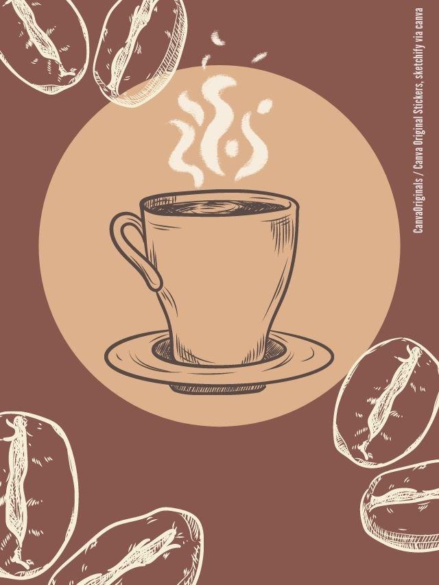 Kaffee aufbewahren Collage