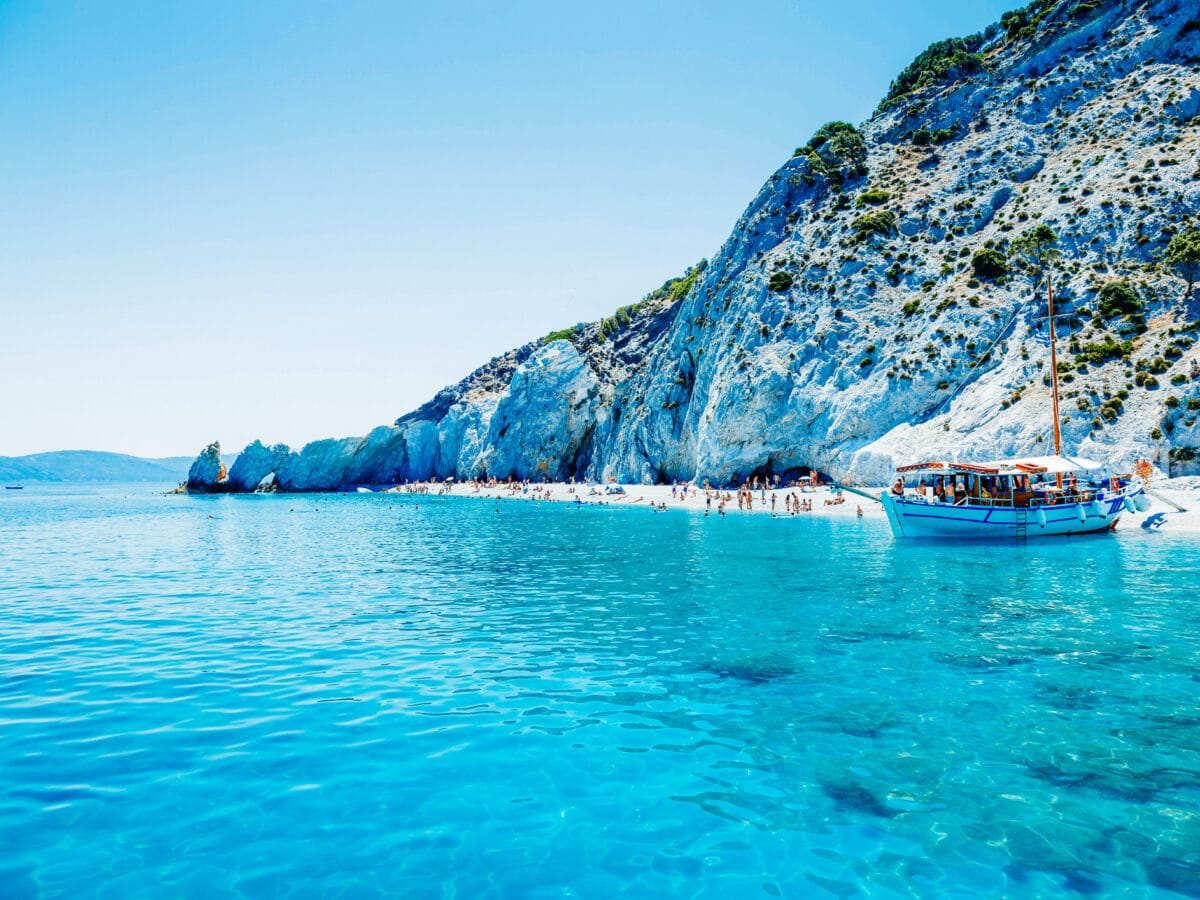 Lalaria Beach Griechenland