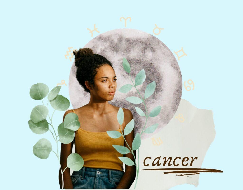 Krebs Collage Sternzeichen