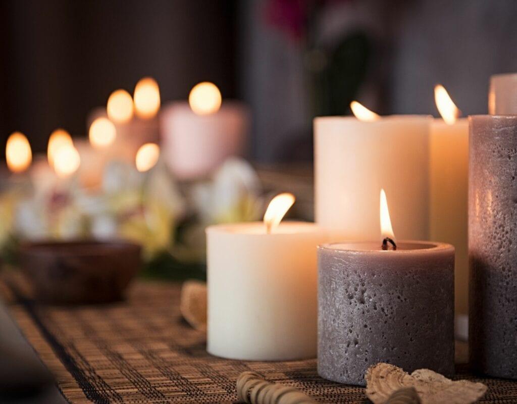 Kerzen Hexe werden
