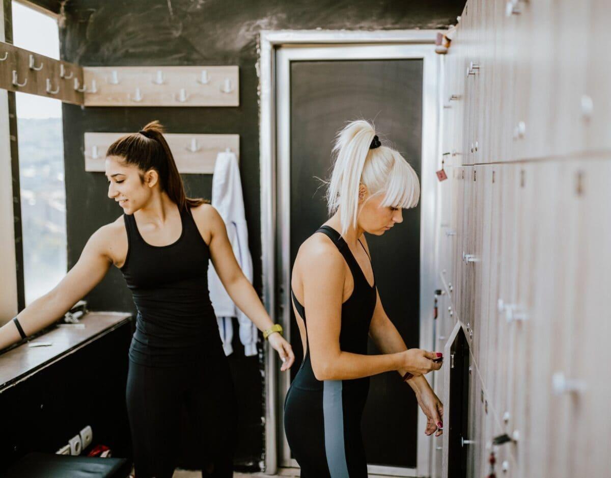 Frauen Gym Umkleide