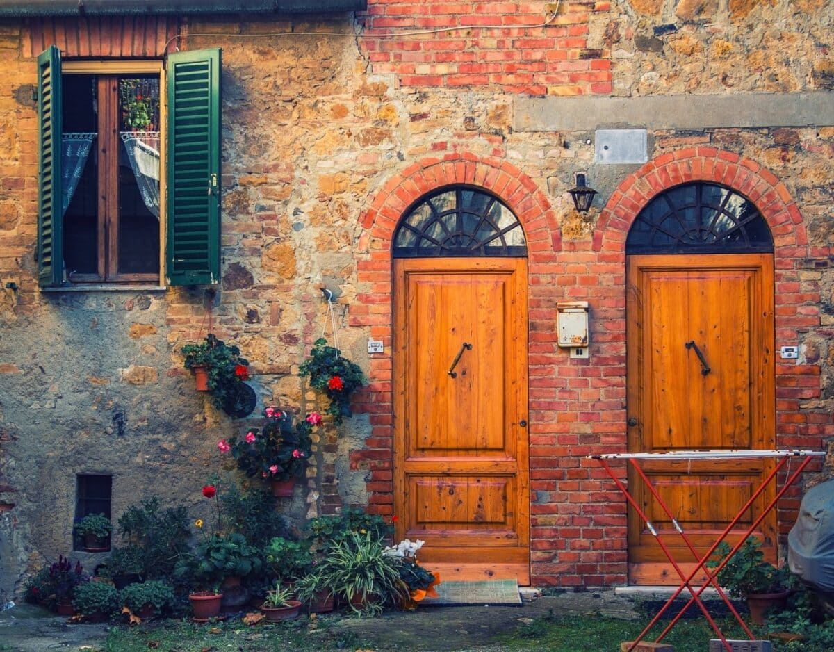 altes Haus Backstein Italien