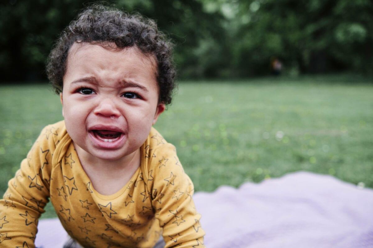 wiese baby weint