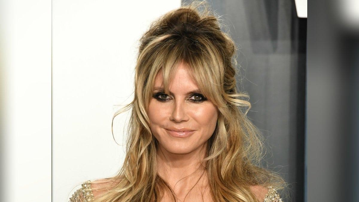 Heidi Klum könnte nicht stolzer auf ihrer Tochter Leni sein.. © Birdie Thompson/AdMedia/ImageCollect.com
