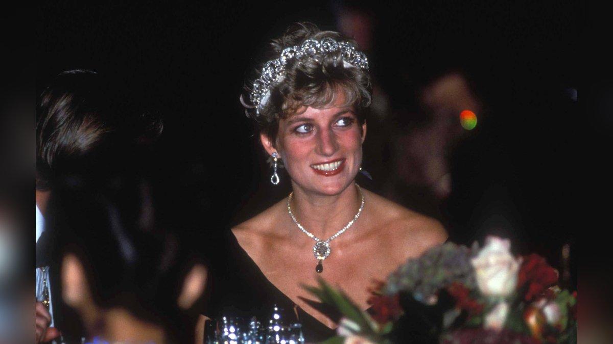 Prinzessin Diana während einer Tour durch Kanada 1991.. © imago/ZUMA Wire