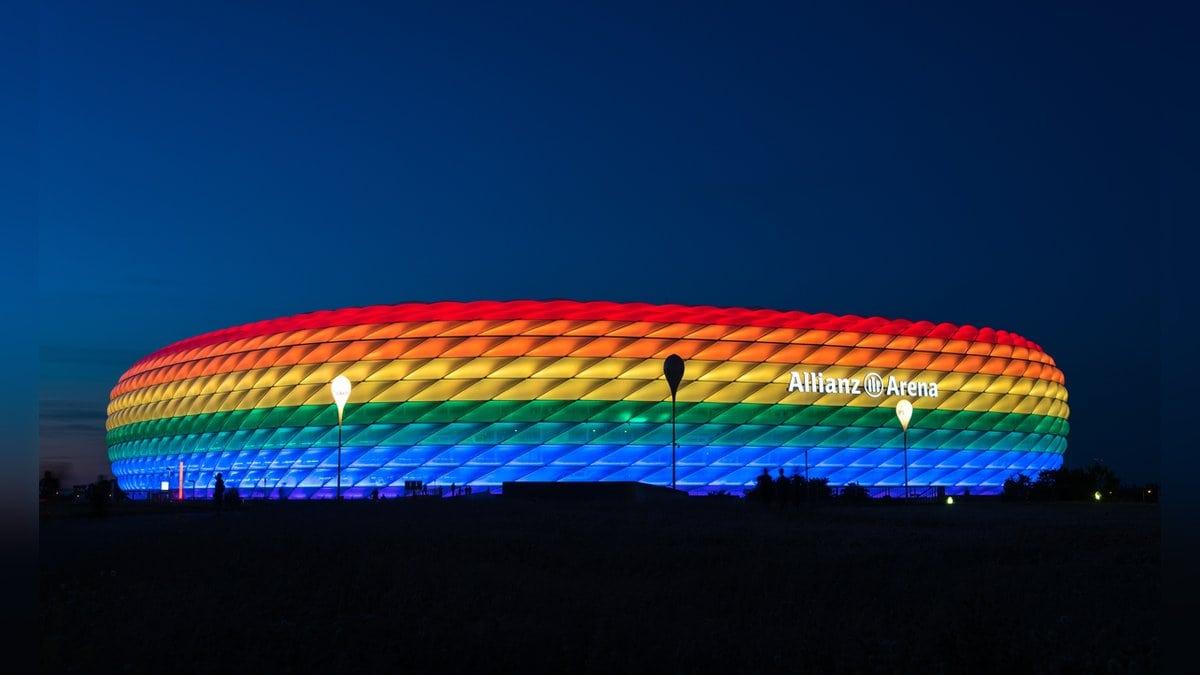 So darf die Allianz Arena in München am Mittwochabend nicht aussehen