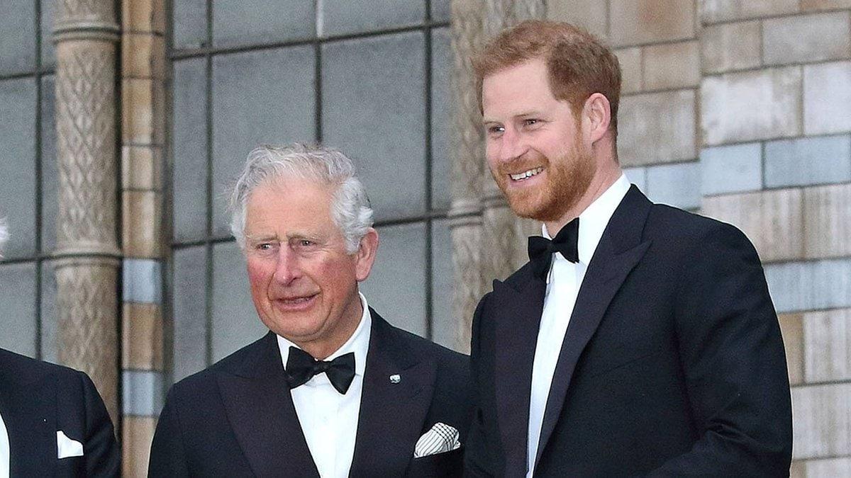 Prinz Charles (l.) wird seinen Sohn Prinz Harry im Juli nicht treffen.. © imago/APress