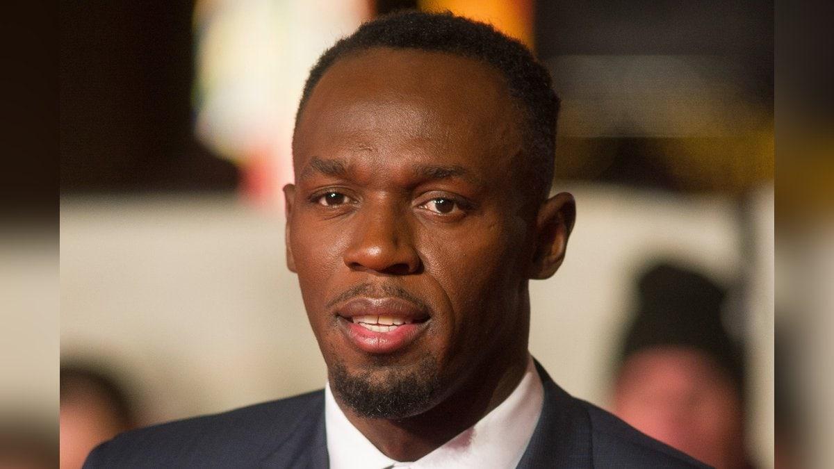 Usain Bolt verrät den Namen seiner Zwillinge.. © Landmark Media. pictures@lmkmedia.com. Tel:00 44 20 7033 3830/ImageCollect