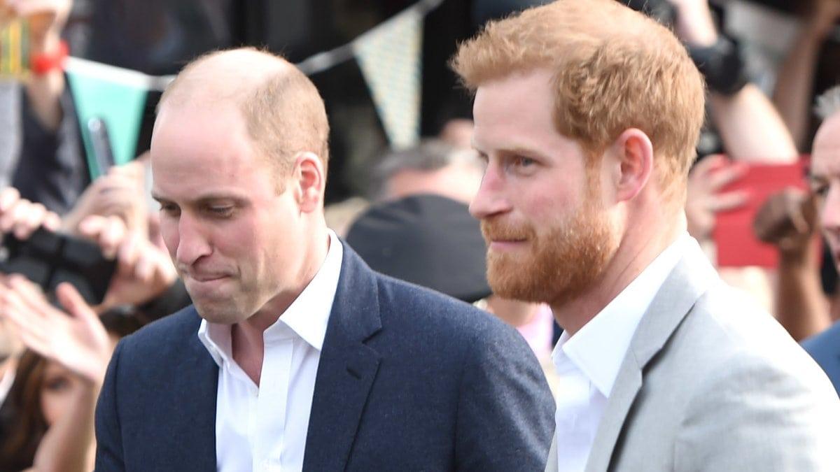Prinz William und Prinz Harry mussten die Gästeliste einer besonderen Feierlichkeit kürzen.. © ALPR/AdMedia/ImageCollect