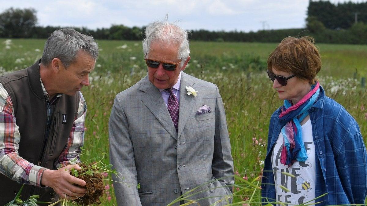 Prinz Charles engagiert sich leidenschaftlich für die Umwelt.. © imago/i Images