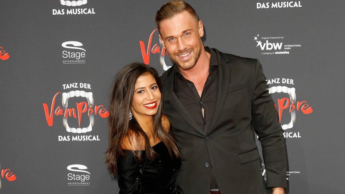 Da waren sie noch glücklich: Eva Benetatou und Chris Broy. © imago images/Eventpress