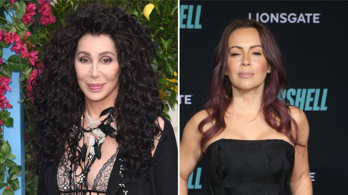 Cher (l.) und Alyssa Milano haben eine klare Meinung zum Strafmaß im Fall des ermordeten George Floyd.. © Landmark Media/ImageCollect.com / FS/AdMedia/ImageCollect.com