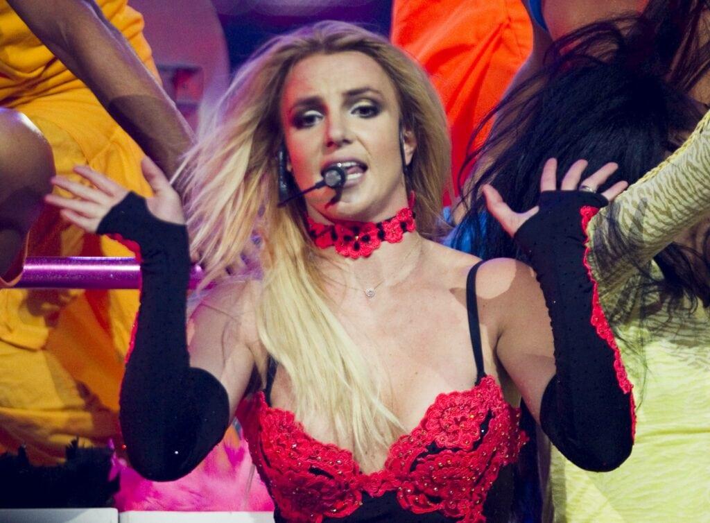 Britney Spears auf Tour