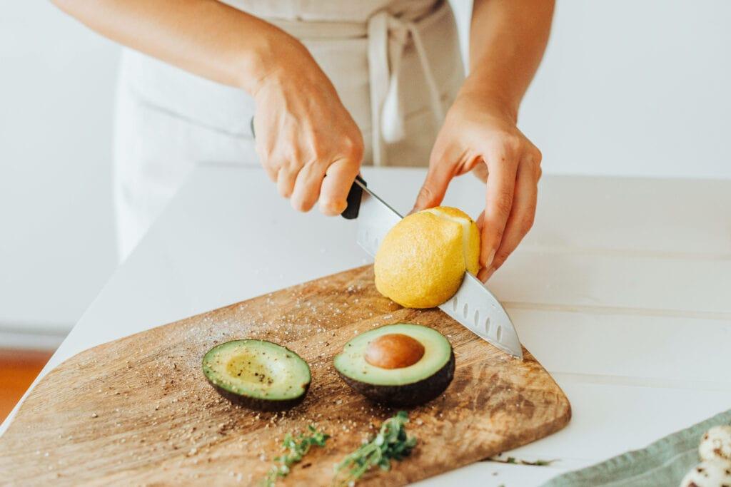 Avocado Zitrone