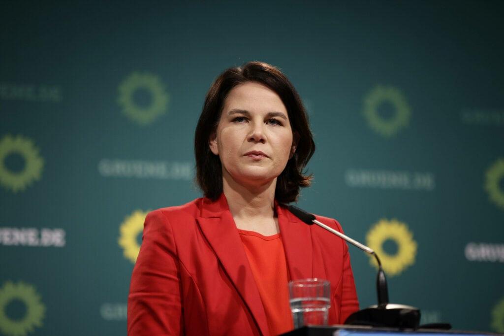 Annalena Baerbock kritisiert
