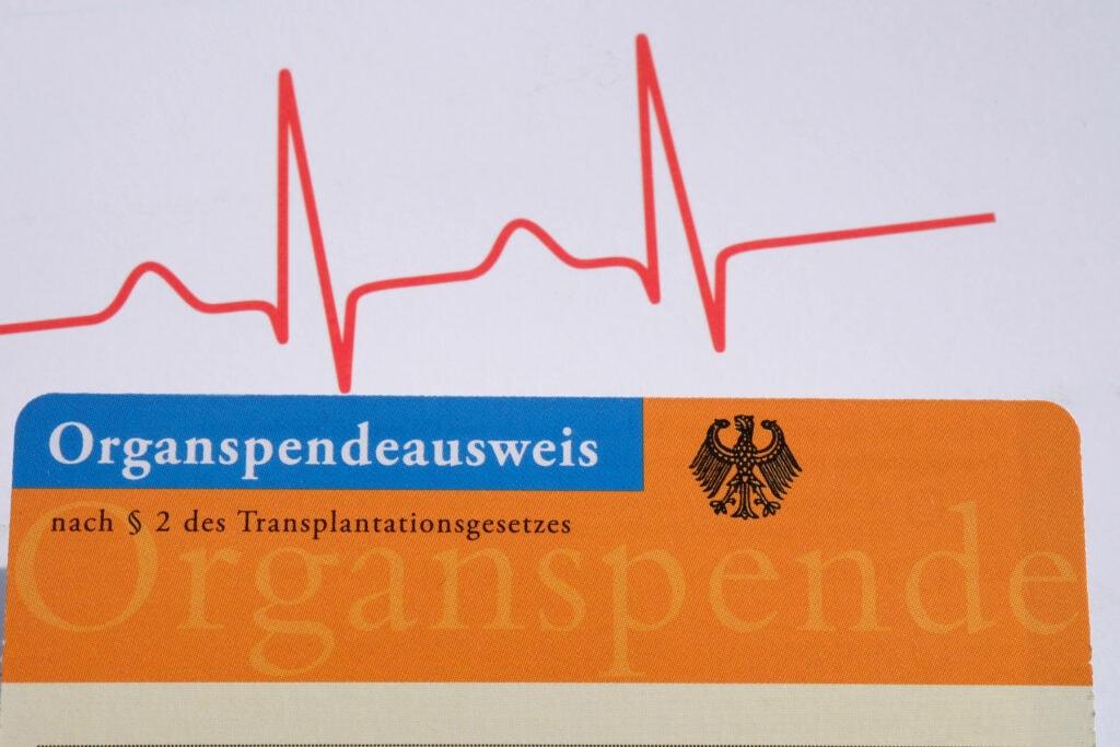 Organpsendeausweis