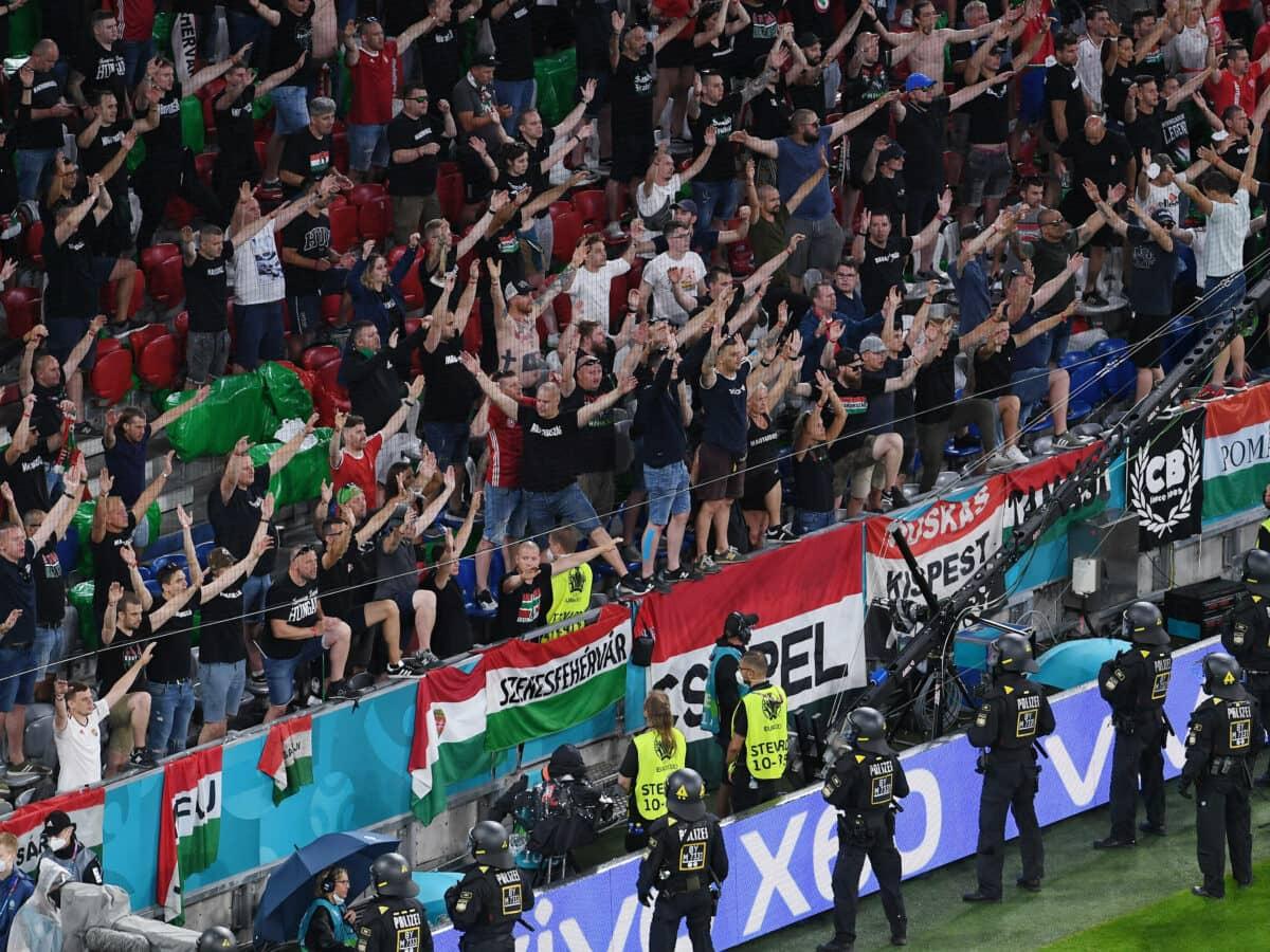Stadion Zuschauer Ungarn