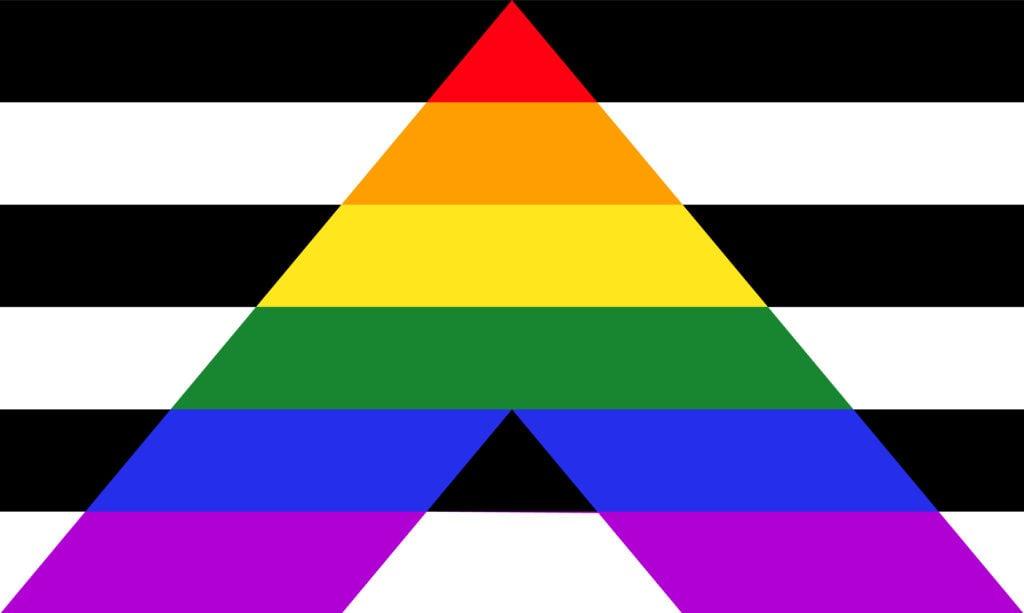 Straight Ally Flag