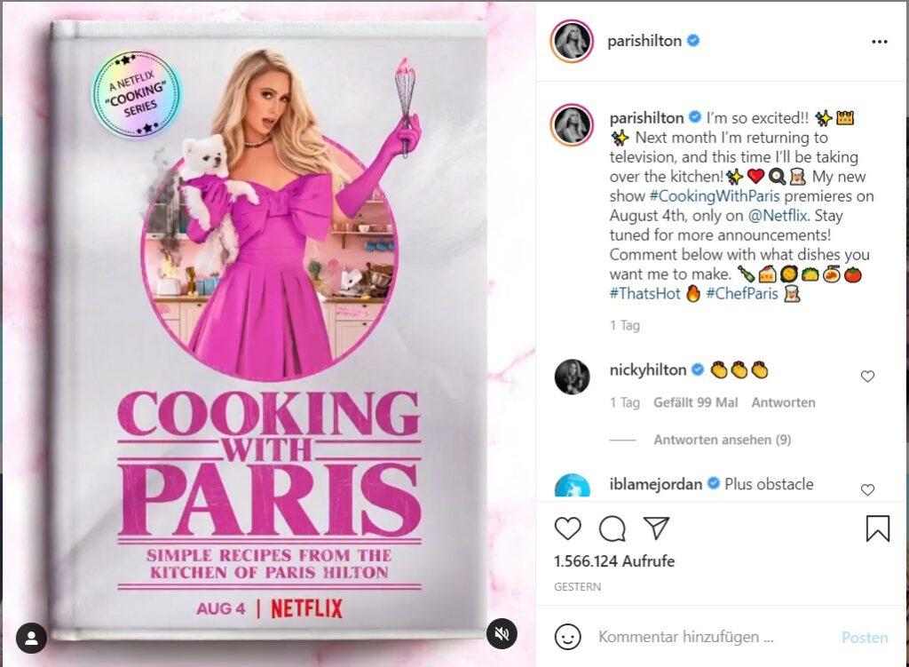 Paris Hilton Netflix Show