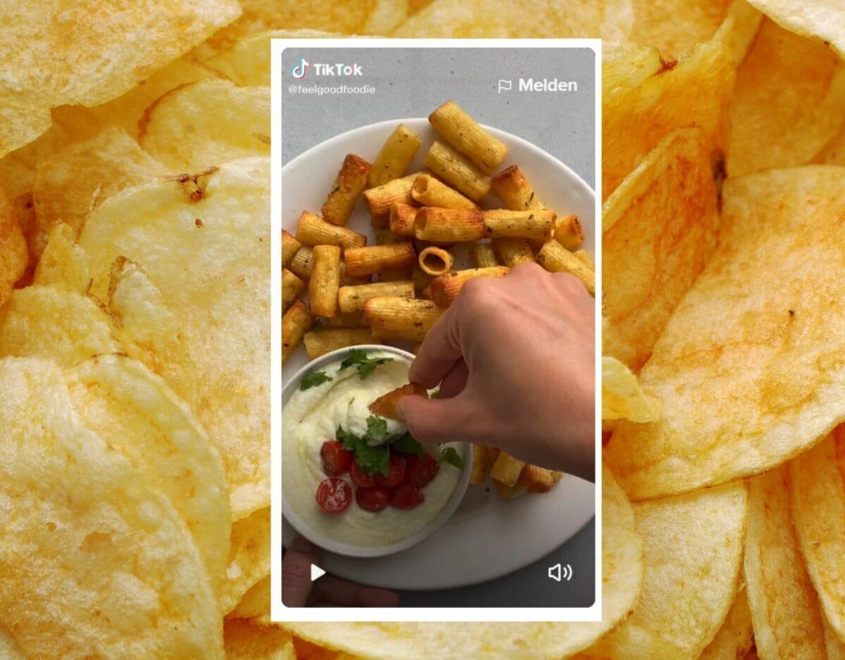 Chips aus Nudeln