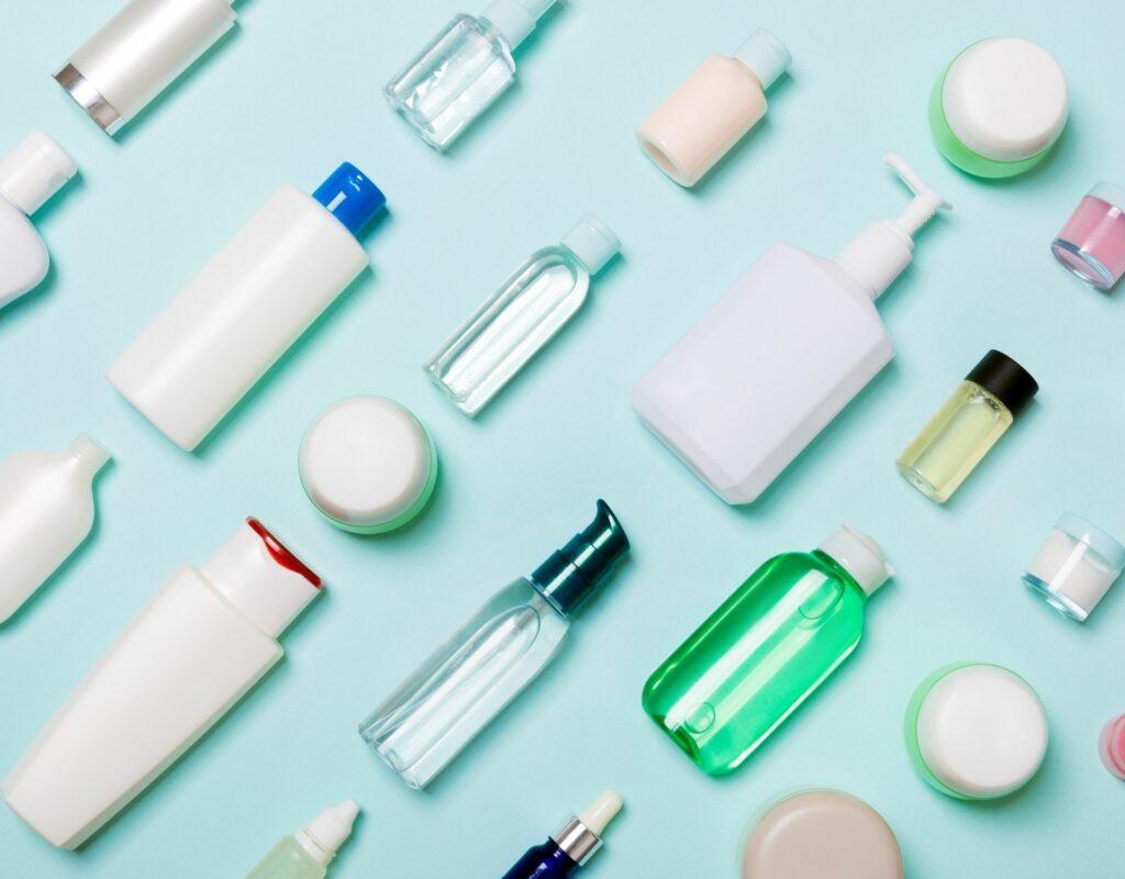 Shampooflaschen