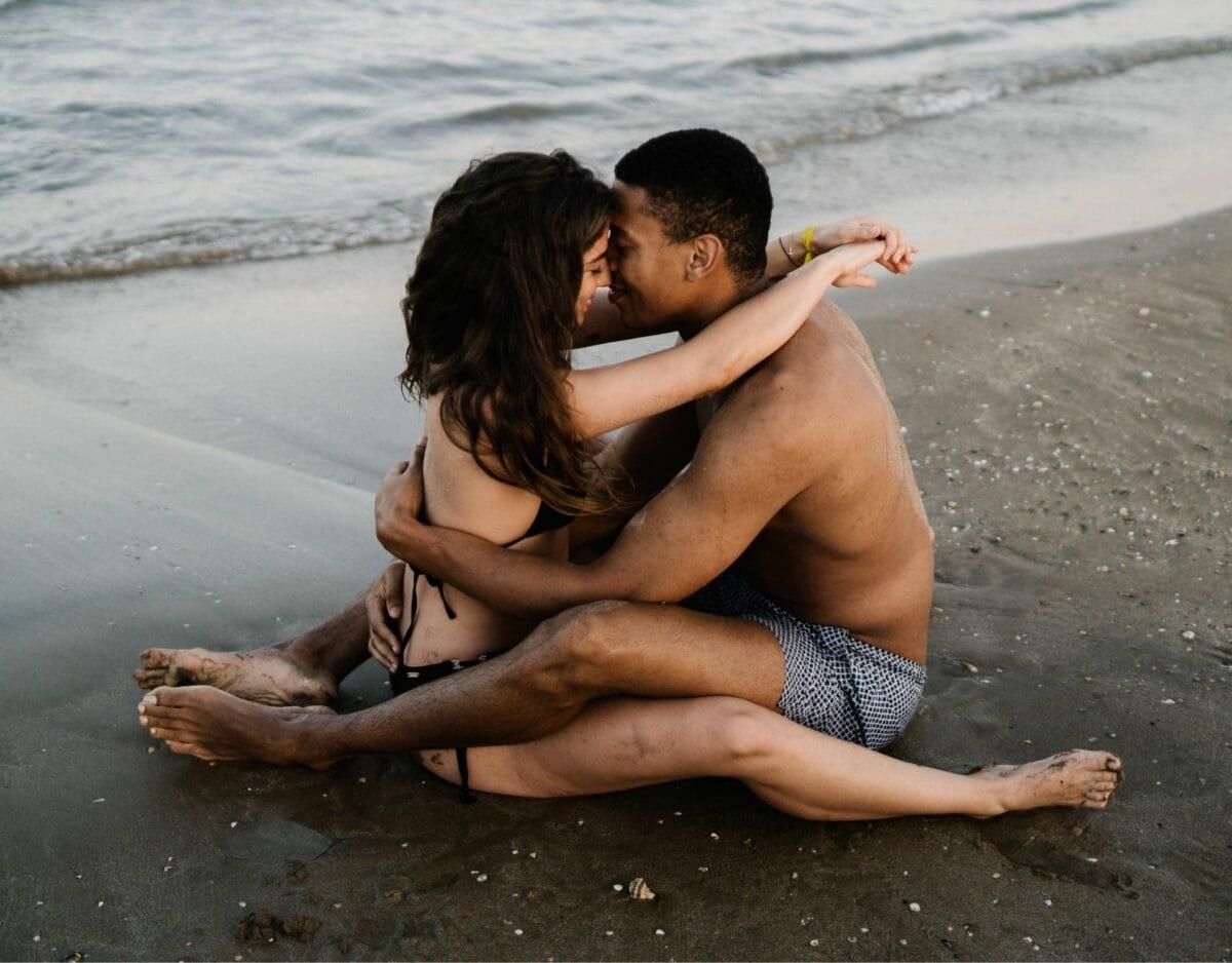 Paar Strand