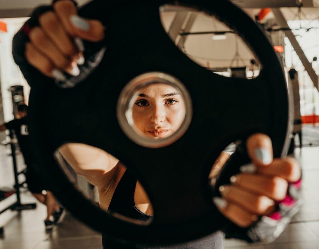 Frau Gewicht