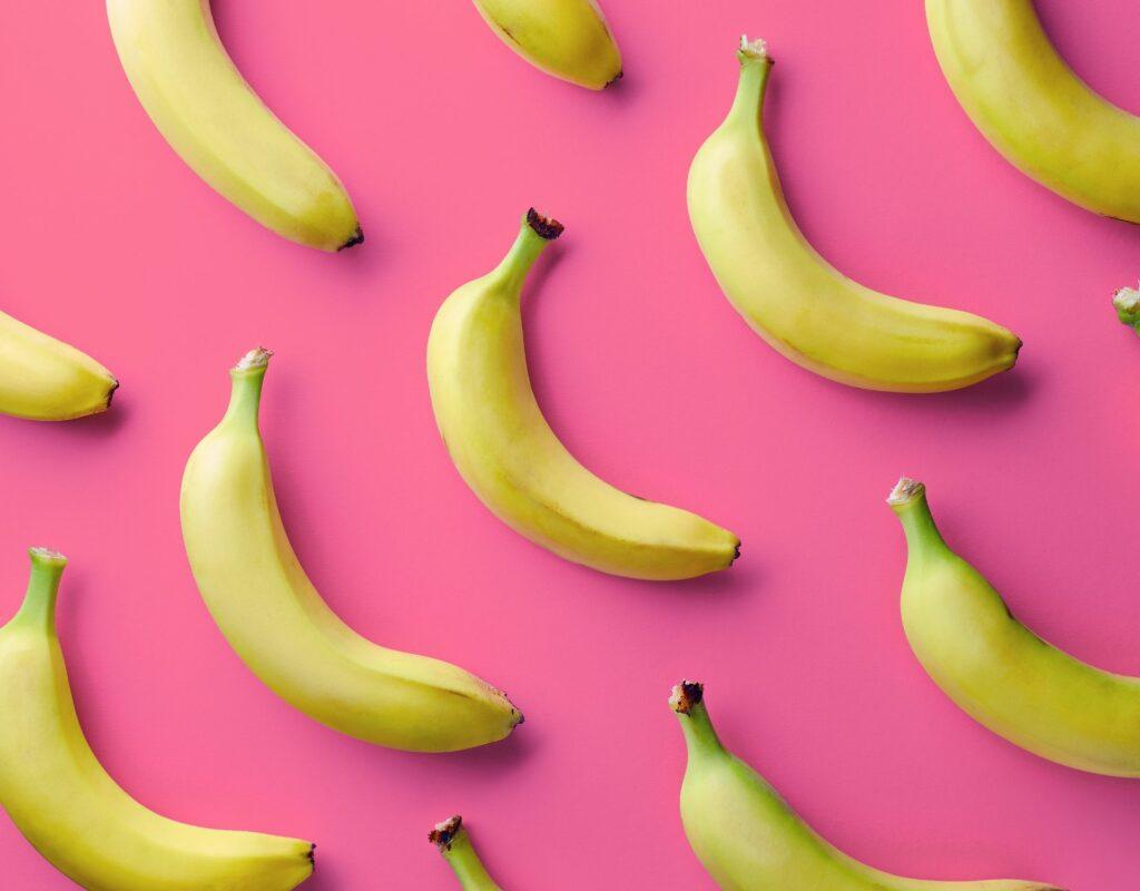Banane vor dem Training