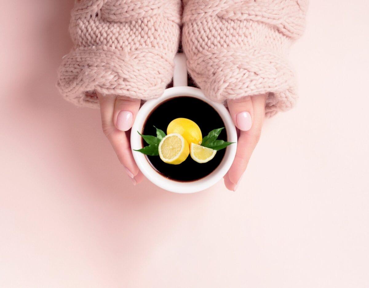 Kaffee Zitrone