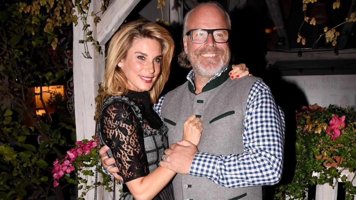 Claudelle Deckert und Peter Olsson hatten sich im Mai verlobt.. © imago images/Future Image
