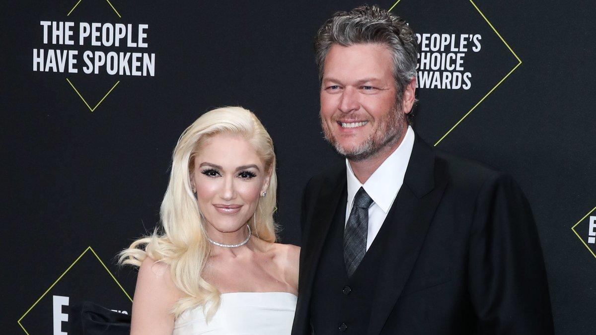 Seit 2015 sind Blake Shelton und Gwen Stefani schon ein Paar - jetzt läuteten die Hochzeitsglocken.. © Xavier Collin/Image Press Agency/ImageCollect.com