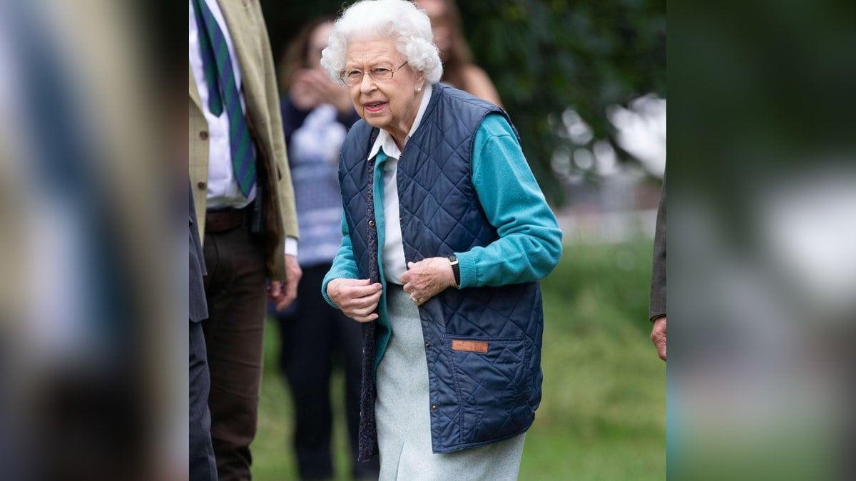 Die Queen bei der Royal Windsor Horse Show.. © imago/i Images