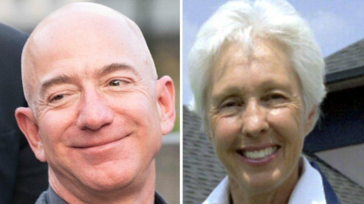 Jeff Bezos und Wally Funk werden zusammen ins All fliegen.. © lev radin/Shutterstock.com / imago images/Michael Hughes